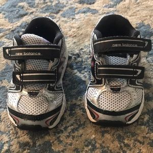 Barely worn new balance gym shoes for baby boy